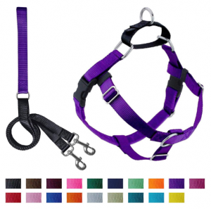 2 Hounds NoPull Dog Harness with Leash Medium